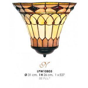 LAMPE A POSER Tiffany lampe de mur de diamètre 31cm, hauteur 26c