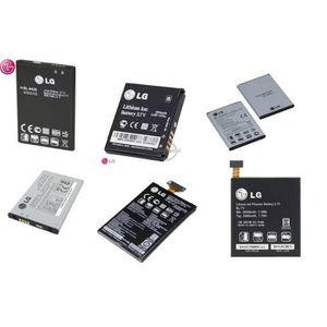 Batterie téléphone Originale Batterie LG KP501 Twilight
