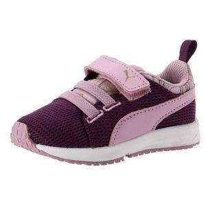 Puma Chaussures Sportswear Enfant  Ps Carson Marble Orange et noir - Chaussures Baskets basses