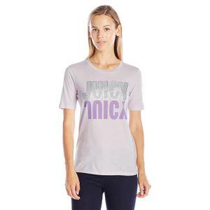 T-SHIRT Juicy Couture T-shirt graphique de réflexion en tr