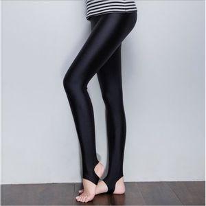 PANTALON Leggings femmes portent la taille haute pantalons 437ffe815d42