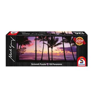 PUZZLE Puzzle panoramique 136 pièces : Palm Cove, Austral
