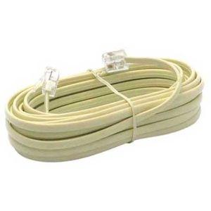 CÂBLE RÉSEAU  Cable telephone RJ11 5 metres