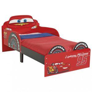 STRUCTURE DE LIT Lit Enfant Cars 70x140