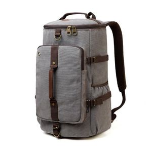97f011933a SAC À DOS VENTCY Sac Voyage Vintage Weekend Homme Femme Sac