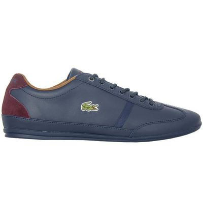 Uk Homme P80wnok Chaussures Bleu 7 Pointure Sport 5 Lacoste Misano wX08NknOP