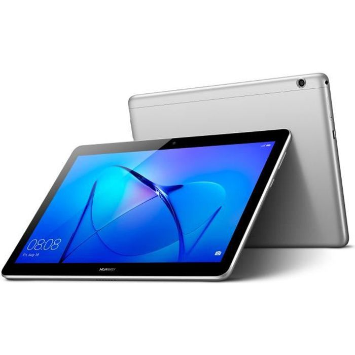 """9.6"""" IPS- 4G - RAM 2Go - Qualcomm MSM8917 - Android 7.0 - Stockage 16Go - GrisTABLETTE TACTILE"""