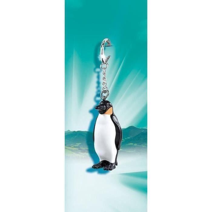 PLAYMOBIL 6667 Porte-clés Pingouin - Mixte - A partir de 4 ans - Livré à l'unitéFIGURINE MINIATURE - PERSONNAGE MINIATURE
