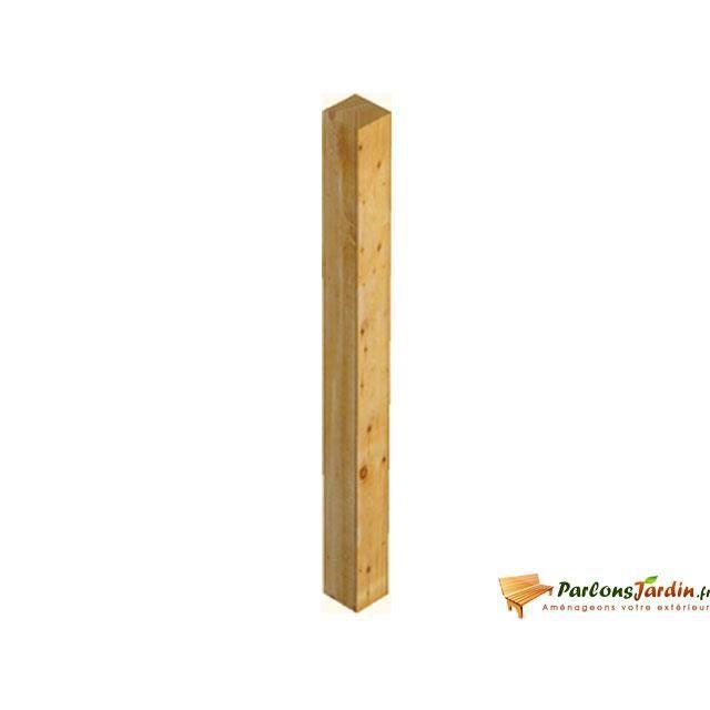 poteau en bois pour balustre achat vente piquet poteau poteau en bois pour balustre. Black Bedroom Furniture Sets. Home Design Ideas