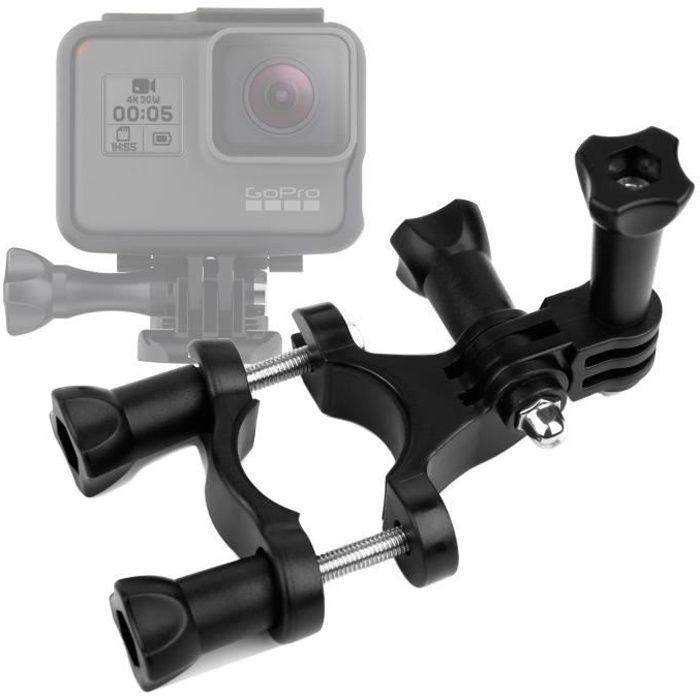 Fixation guidon et tube pour GoPro HERO5 Black et Session caméra sport -  support pour vélo, tige de selle, bâtons par cd6bc0ce3bc1
