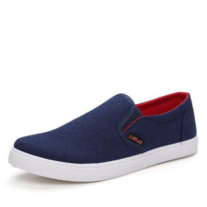 Sneaker Homme Antidérapant Hommes Chaussures Marque De Luxe Classique Chaussure Grande 1ctBtPLR