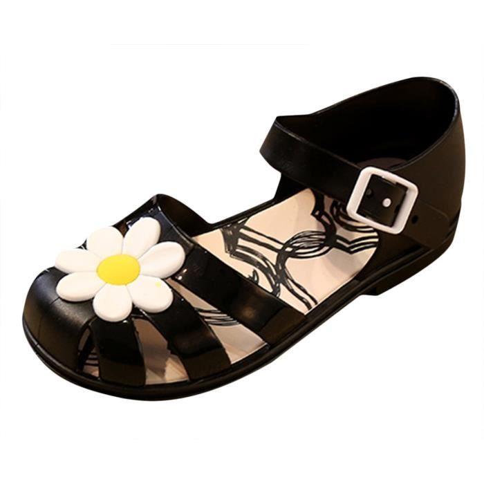 Sandales Enfant Fille Chaussures de Plage Floral Bout Fermé été Casual raN7f4hb9B