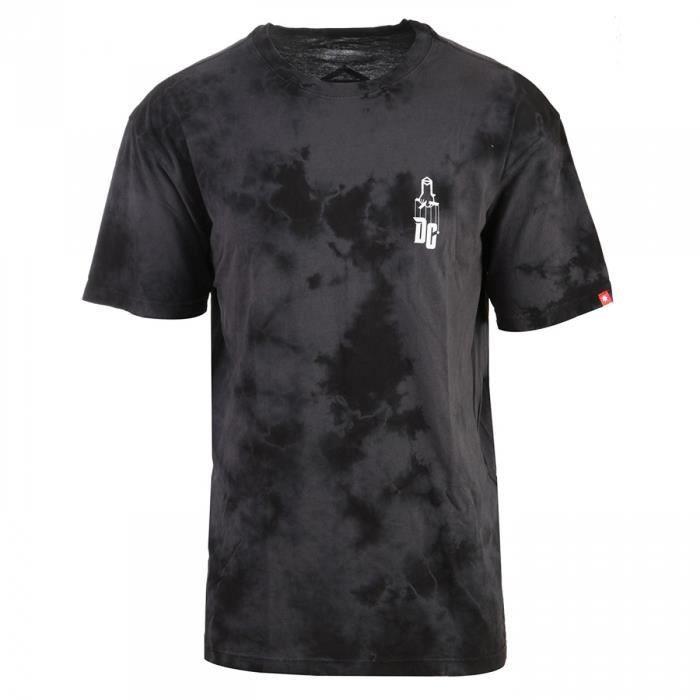 Tee Shirt Sk8 Mafia Texture Black - DC Shoes m7hS7mxI