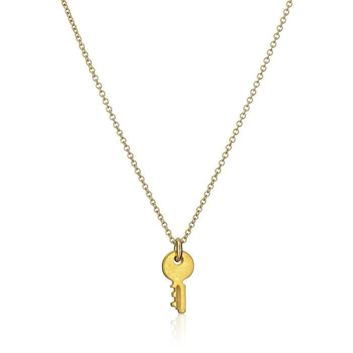 Dogeared Reminders Confidence Is Key Cute Pendant Necklace, 18 YVE71