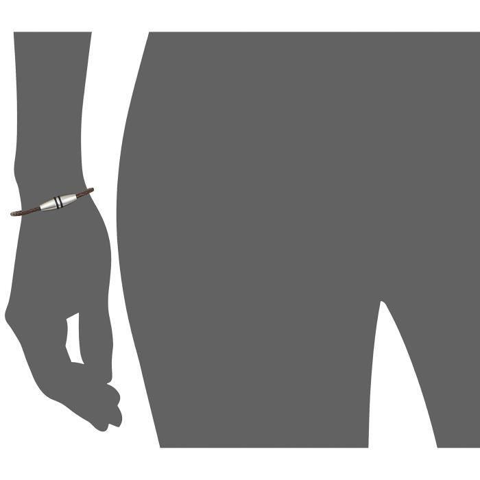 Esprit Bracelet - Acier Inoxydable - Oxyde De Zirconium - 21.0 Cm - Esbr10495a21 I4G7B