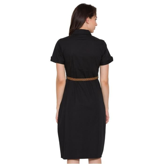 Ouest Robe noire des femmes DG9ZW Taille-36
