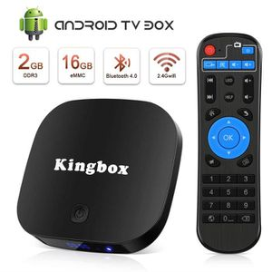 PACK ACCESSOIRES Kingbox® K2 Android tv box 4K HD 2+16GB RK3229 H.2