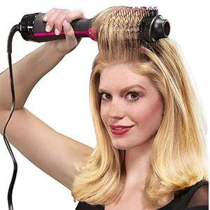 FER A LISSER Vapeur Brosse Sèche-Cheveux Négatif Lonic Cheveux