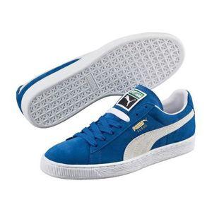94804136b7 BASKET Chaussures Puma Suede Olympian Blue Bleu