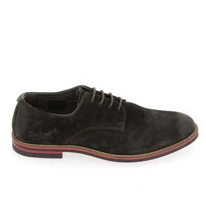 BALLERINE Chaussure de ville KICKERS Eldan Marron Fonce ...