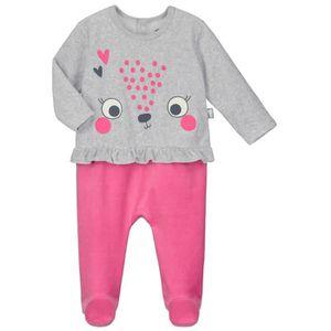 Ensemble de vêtements Pyjama bébé velours Petite Reine - Taille - 36 moi efd0514fd0d
