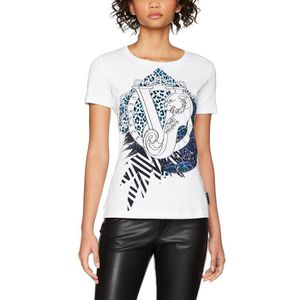 T-SHIRT Versace Jeans T-shirt Femme 1QIGMZ Taille-38 8305aa3a0fe5