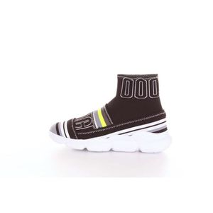 f8b2f8309cfb BASKET MSGM 2442MDS17 Sneakers Femme Fantaisie noire