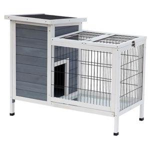clapier lapin interieur achat vente clapier lapin. Black Bedroom Furniture Sets. Home Design Ideas