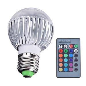 ampoule led couleur telecommande achat vente ampoule led couleur telecommande pas cher. Black Bedroom Furniture Sets. Home Design Ideas