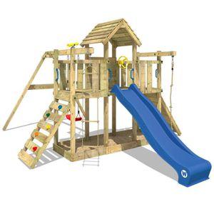 STATION DE JEUX Aire de jeux WICKEY Twister Portique en bois Tour