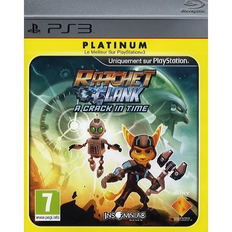 RATCHET & CLANK : A Crack In Time Platinum - JEU PLAYSTATION CDISCOUNT