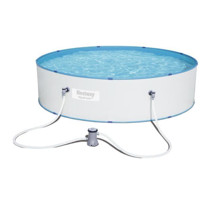 BESTWAY Kit Piscine Ronde Hydrium Splasher Pool - Ø3,30x H0,84cm