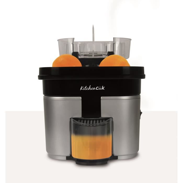 KITCHEN COOK Presse-agrumes électrique double Speed'O - 500 ml - Inox