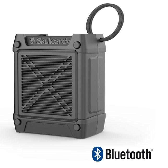 SKULLCANDY Speaker Bluetooth Portable Shrapnel - 12 h - NoirENCEINTE NOMADE - HAUT-PARLEUR NOMADE - ENCEINTE PORTABLE - ENCEINTE MOBILE - ENCEINTE BLUETOOTH - HAUT-PARLEUR BLUETOOTH