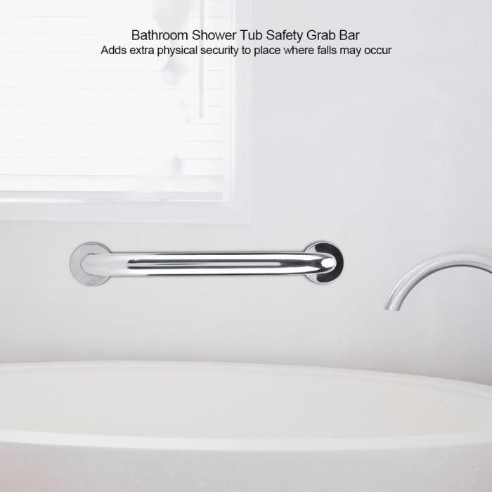 Barre D Appui Inox Poignee De Baignoire Pour Wc Toilette Salle De
