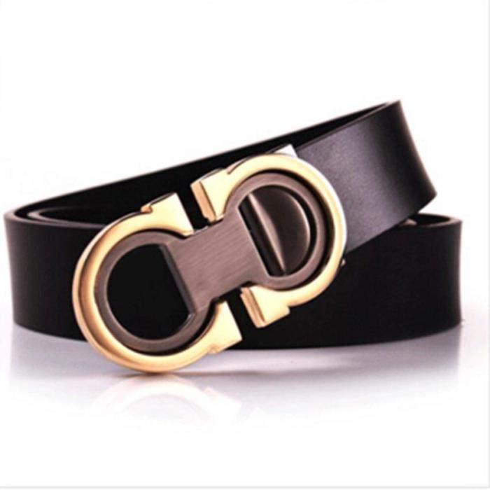 c504cd62221 Hommes Ceinture en cuir véritable luxe de ceinture ceintures de créateurs  de marque hommes Leique Texture