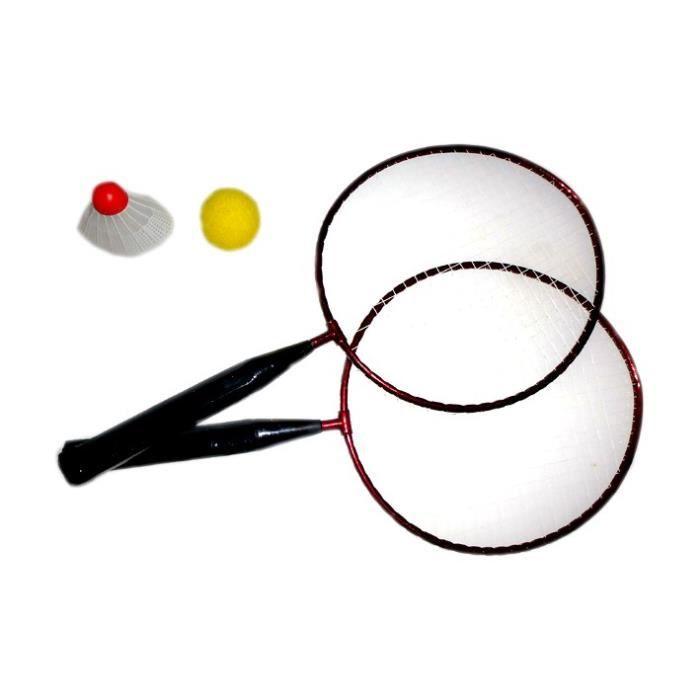 """Lot de 6 - Set de badminton """"Fun"""" pour enfant"""