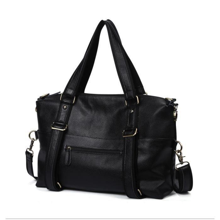 Nouveau cuir hommes sac sac à main sac à bandoulière sac de messager