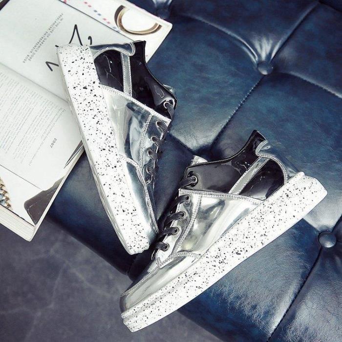 Chaussures DéTente Anti-DéRapant En Toute LéGèReté Plus Fortes Fitness Homme argent R21183638_1708 3huFhjemM