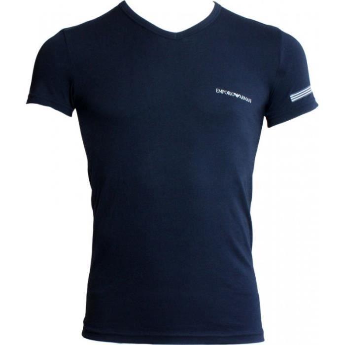 facba1ed8da Tee-shirt EA7 Emporio Armani - Ref. 110810-7P723-00135 Bleu Bleu ...