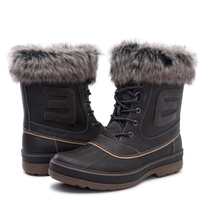 Globalwin Bottes d'hiver imperméables CTKGA Taille-42 1-2 XPEOApW0