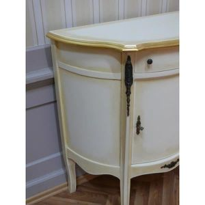 Commode baroque blanche - Achat / Vente pas cher