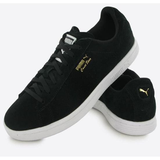 competitive price 5c56a 1781a Puma Court Star Suede noir, baskets mode homme