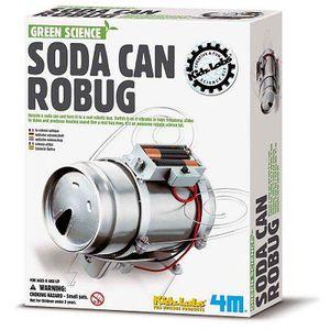 ASSEMBLAGE CONSTRUCTION Kit de réalisation - Green Science : Robot Insecte