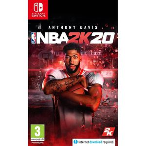 SORTIE JEU NINTENDO SWITCH NBA 2K20 Édition Standard Jeu Switch