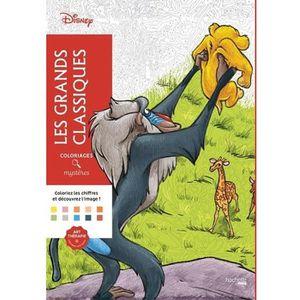 LIVRE LOISIRS CRÉATIFS Les grands classiques Disney