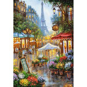 PUZZLE Puzzle 1000 pièces Spring Flowers, Paris