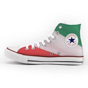 Converse All Star Personnalisé et Imprimés - chaussures à la main - produit Italien - Marshmallow tkMGnREZv