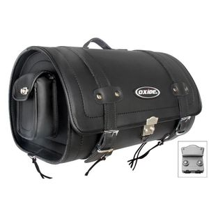 SAC - FILET DE COFFRE Sacoche en Cuir Transport Casque Oxyde 40L Premium
