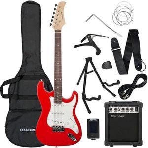 GUITARE Rocket Pack Guitare Electrique - Rouge